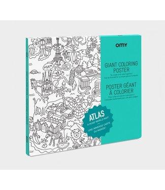 OMY OMY : Kleurposter - ATLAS