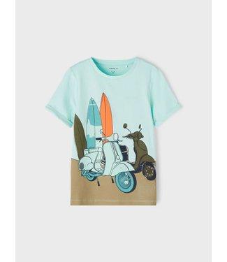 Name it Name it : T-shirt Johan (Blue tint)