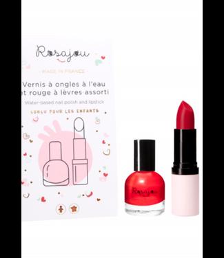 Rosajou Rosajou : Duo lippenstift en nagellak MADAME