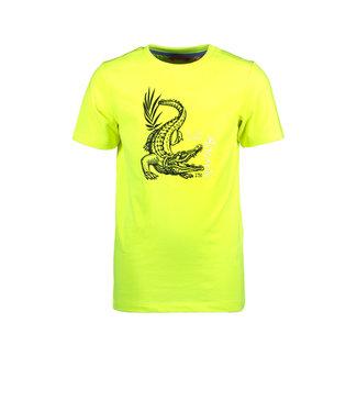 Tygo & Vito Tygo & Vito : T-shirt Aligator (fluogeel)