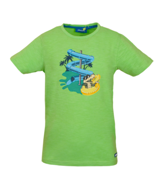 Someone Someone : T-shirt Take (Fluo green)