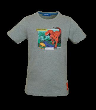 Someone Someone : T-shirt Dinos (Light green melange)