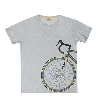 UBS.2 UBS.2 : Grijze T-shirt met fiets (Papa)