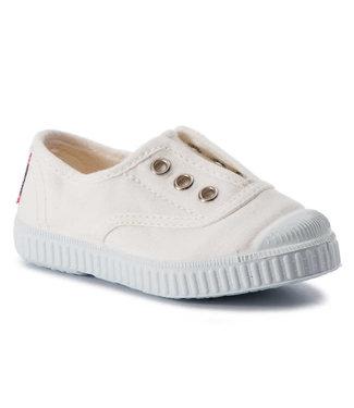Cienta Cienta : Sneaker Blanco (Ecru)