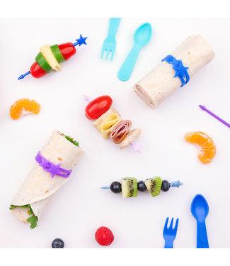 Yumbox Lunch Punch : Stix 7-pack - REGENBOOG
