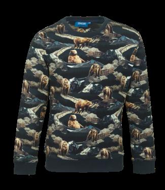 Someone Someone : Sweater Hike (Navy)