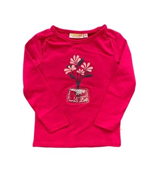 Someone Someone : Longsleeve Belle (Bright pink)