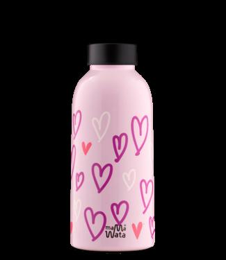 Mama Wata Mama Wata : Thermische drinkfles HEARTS