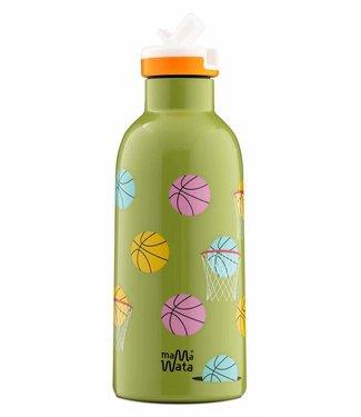 Mama Wata Mama Wata : Thermische drinkfles BASKETBAL
