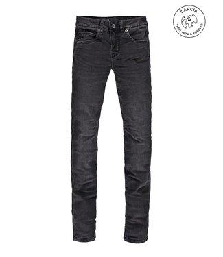 Garcia Garcia : Jeans Xandro Superslim Fit (Coal denim dark used)