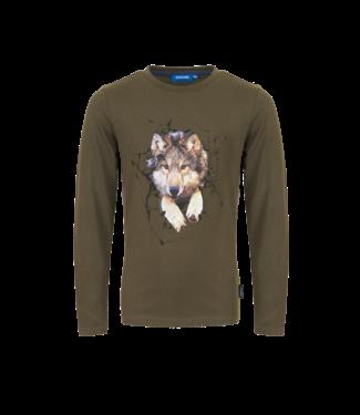Someone Someone : Longsleeve Loup (Khaki)