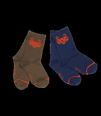 Someone Someone : Duopack kousen Feet (Tijger)