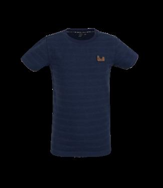 Someone Someone : T-shirt Geocamo (Navy)
