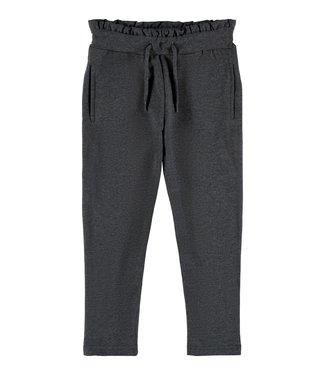 Name it Name it : Stoffen broek Nala (Dark grey melange)