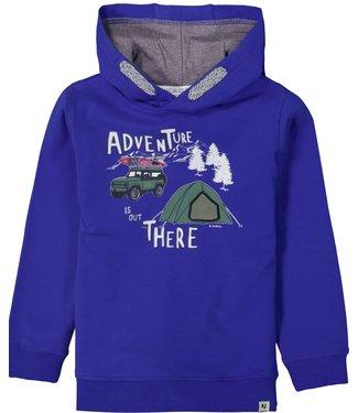 Garcia Garcia : Hoodie Adventure (Yale blue)