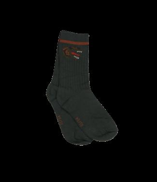 Someone Someone : Duopack geribbelde kousen Feet (Krokodil)
