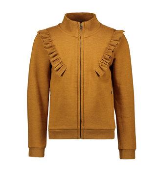Like Flo Like Flo : Cognac vest met ruffles
