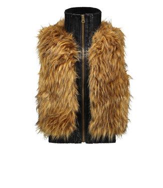 Like Flo Like Flo : Vest met fake fur