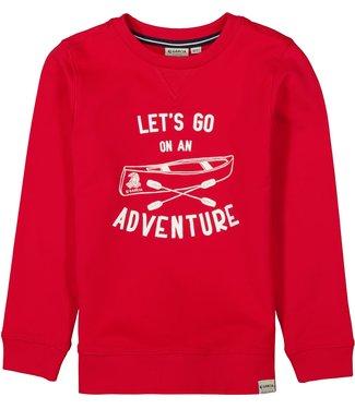 Garcia Garcia : Sweater Adventure (Indian red)
