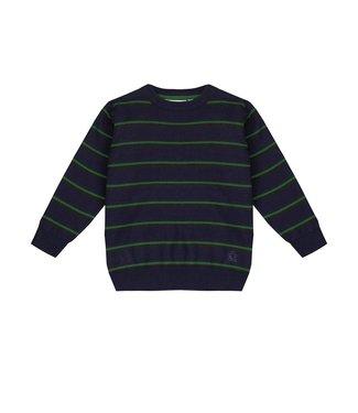 UBS.2 UBS.2 : Gestreepte trui (Groen)
