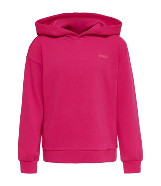Only Kids Kids Only : Hoodie Zoey (Pink peacock)