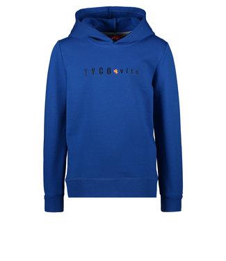 Tygo & Vito Tygo & Vito : Basic hoodie (Kobalt)