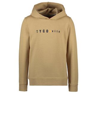 Tygo & Vito Tygo & Vito : Basic hoodie (Taupe)