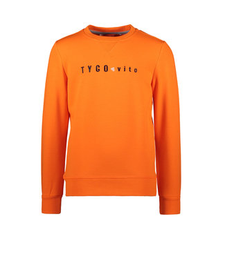 Tygo & Vito Tygo & Vito : Basic sweater (Oranje)