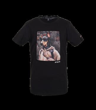Someone Someone : T-shirt Chiller (Black)