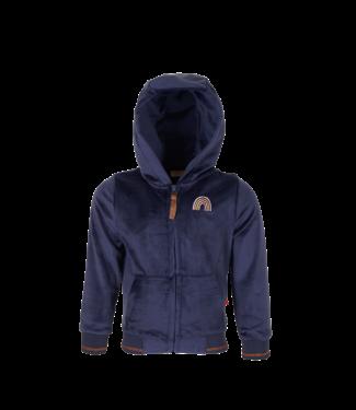 Someone Someone : Zachte hoodie Zanna (Navy)