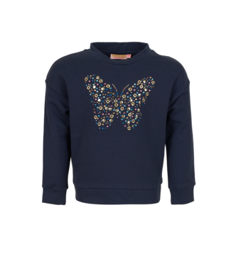 Someone Someone : Sweater Fragile (Navy)