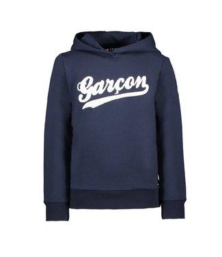 Le chic garçon Le chic garçon : Blauwe hoodie Garçon
