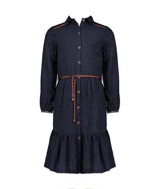 Nono Nono : Halflang blauw kleed