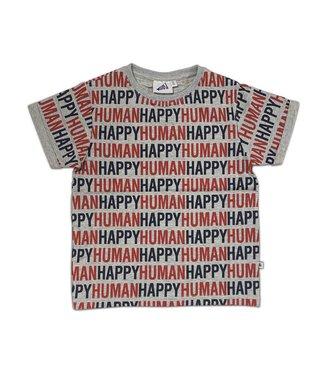 Cos I Said So Cos I Said So : T-shirt 'Happy human' (Heather grey)