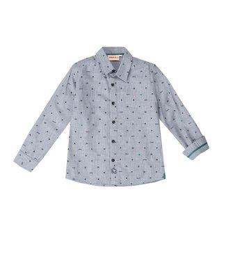 UBS.2 UBS.2 : Lichtblauw hemd met stip