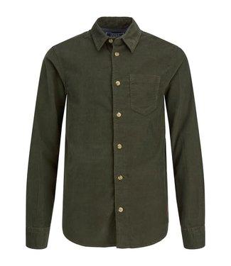 Name it Jack & Jones : Curduroy hemd (Forest night)