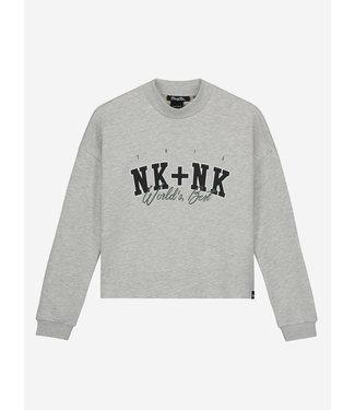 Nik & Nik Nik & Nik : Sweater Best (Light grey melange)