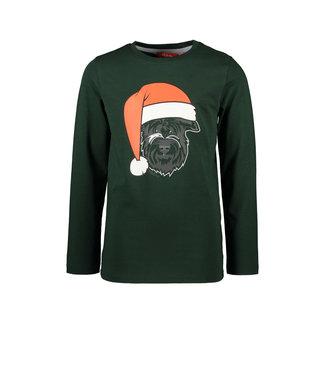 Tygo & Vito Tygo & Vito : Longsleeve Kerst (groen)