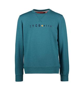 Tygo & Vito Tygo & Vito : Basic sweater (Petrol)