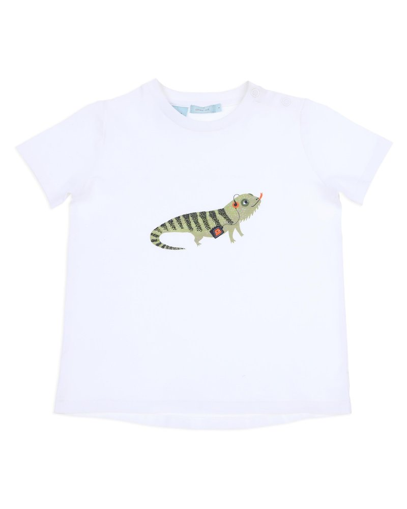 Goldie + Ace Bradley bearded dragon T-shirt Ivory