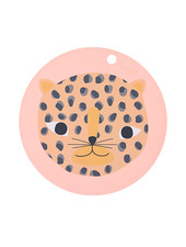 OYOY Living Design  Placemat Snow Leopard
