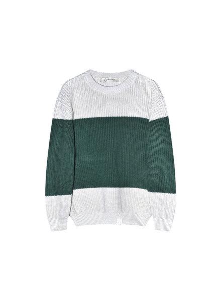 I Dig Denim Bo block knitted sweater Kids (3Y-6Y)