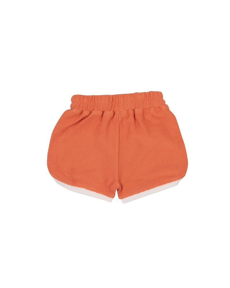 Goldie + Ace SADIE TERRY Towelling Shorts Flamingo