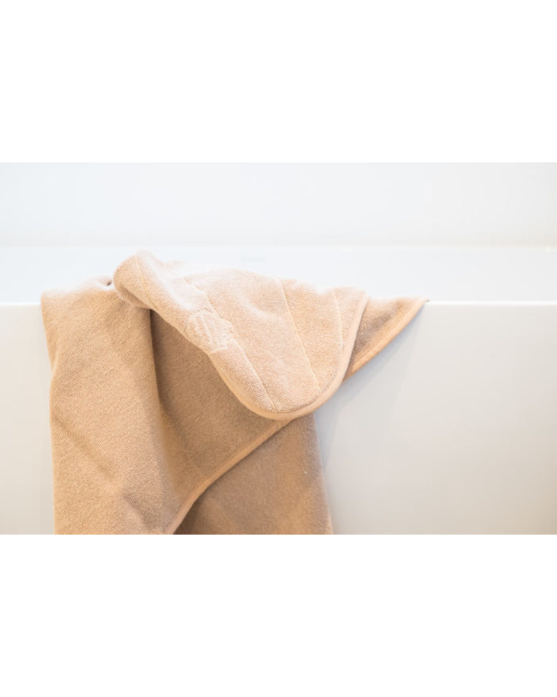 That's Mine Hooded Towel Shell - Dusty Rose