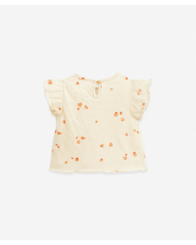Play up Heart Printed Jersey T-shirt