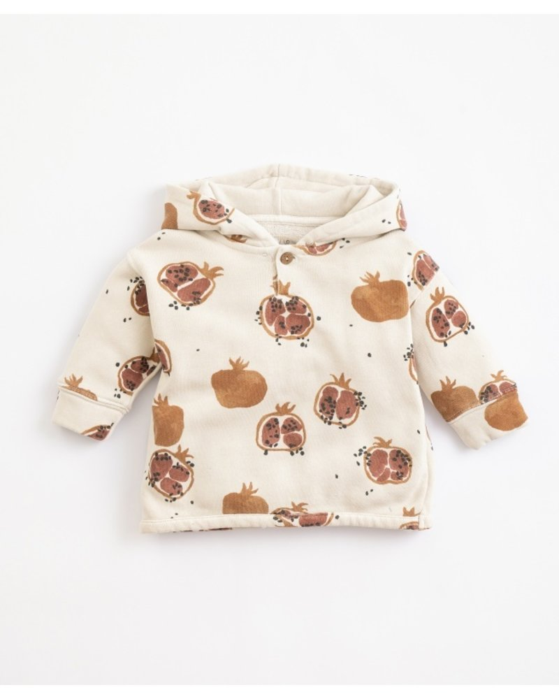 Play up Pomegranate Hooded Sweater