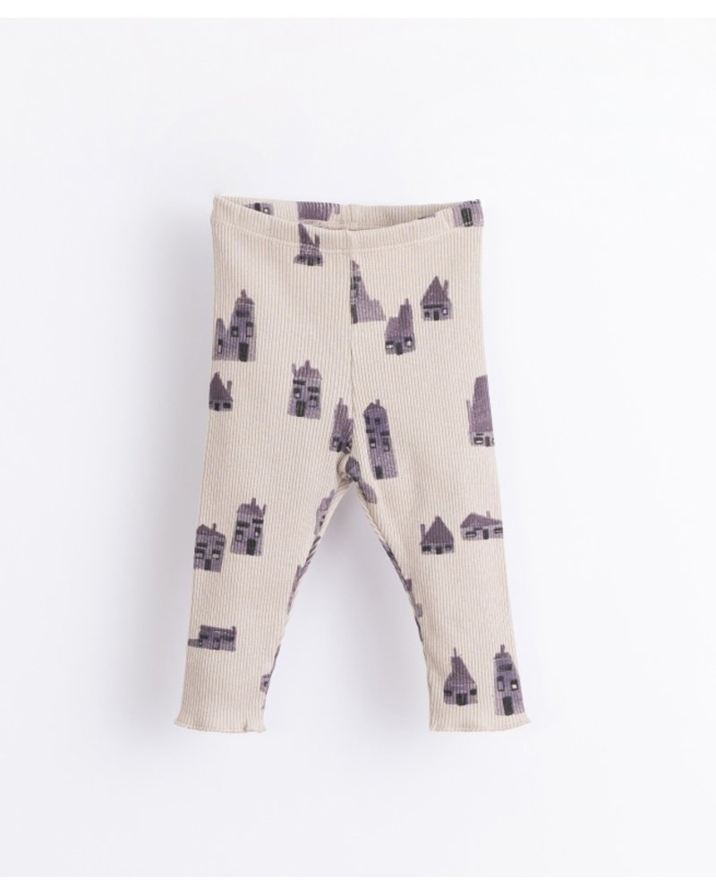 Play up Leggings with houses print