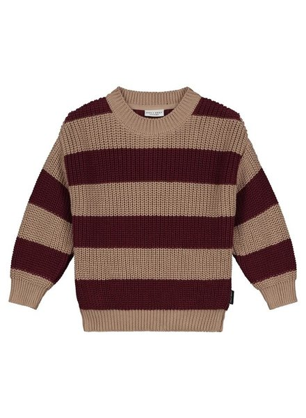 Daily Brat Elliot striped knitted sweater