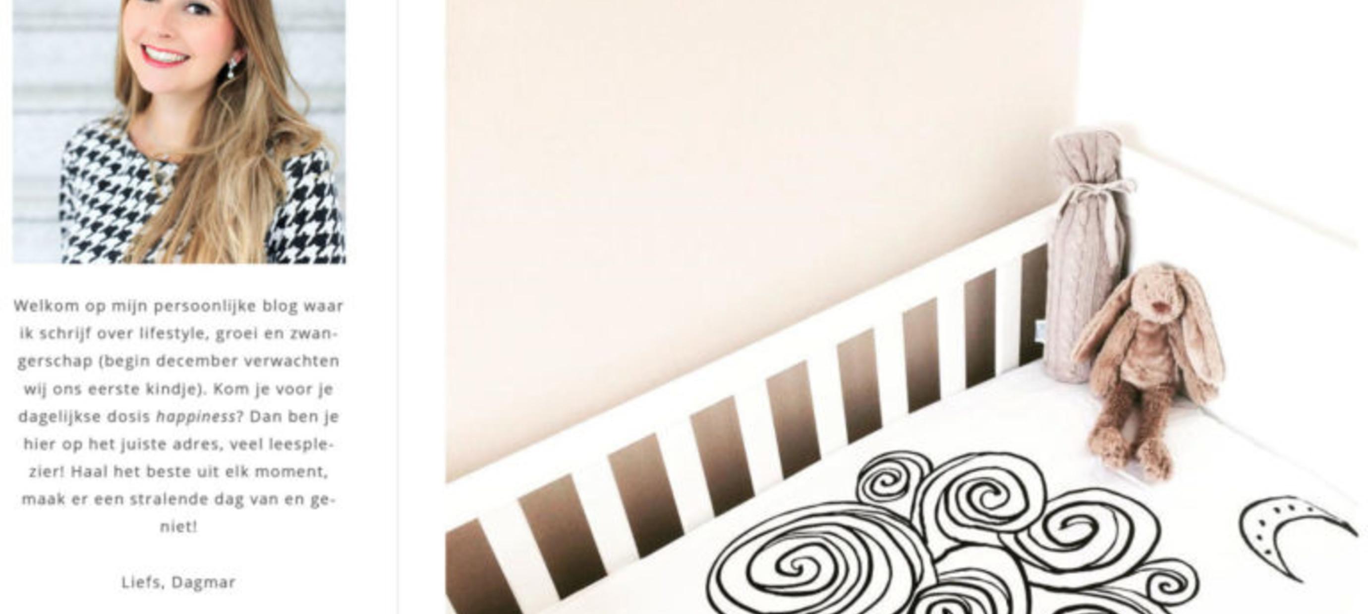 Auteur en blogger Dagmar Valerie: De stijl van onze babykamer