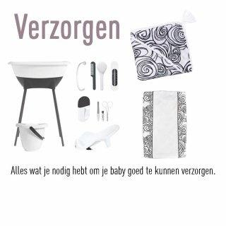 Alles wat je nodig hebt om je baby goed te kunnen verzorgen.